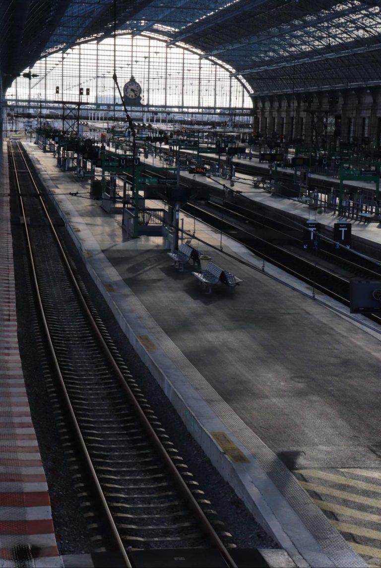 Gare Saint-Jean vide